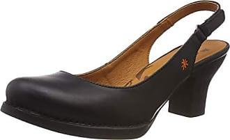 Zapatos Para Negro Grass Cerrada 36 Punta Tacón Mujer Art 1066 Black Con harlem Eu De Hwpq7I