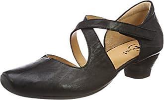 Y Para Mujer 5 Negro Tacon Think Eu Zapatos 37 Tobillo 00 schwarz De 282240 Con Correa Aida wqqvzTZX