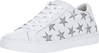 white Blanc silver Eu Side Baskets Femme Street 35 Skechers nYXvq4O