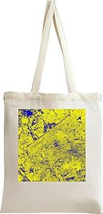 Bag Younique Yellow Wooden Print Tote xrq7z0nUq