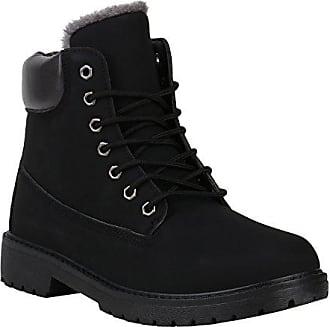 150388 Boots Schuhe Herren Arriate Worker Profil Outdoor Gefütterte Schwarz Stiefelparadies 42 Flandell Warm Winter QdshrCxt