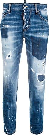 Dsquared2 Bleu Dsquared2 Bleu Jeans Boyfriend Boyfriend Jeans ZtptwU