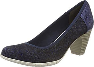navy oliver 38 22405 Azul Mujer Para Zapatos Eu S Glam Tacón De aqwv8FdC