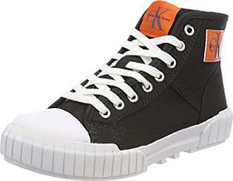 Jeans Nylon Negro Eu Para Mujer Klein Zapatillas Calvin Altas blk Bixi 000 41 Fqftw785