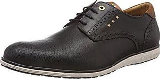 Pantofola Derby De Zapatos Eu Hombre Para black Low Uomo Sangro 25y Cordones Negro 40 D'oro rWaqBT0r
