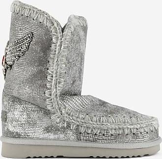 Eskimo Eagle Boots Mou Gris Patch 6qO1PRf