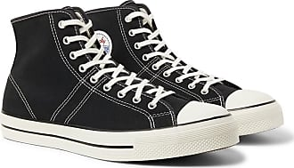 Black Lucky Canvas Converse High top Star Sneakers HzwxY