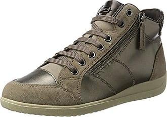 D Femme Hautes lt B 39 Sneakers Taupe Eu Myria Geox Marron dqIwXZd