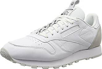 Herren skull It black 5 white Reebok Leather Sneaker Classic Grey Eu 45 Weiß 1Fdxwq