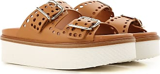 Leather In On Outlet 2017 Brown Women Tod's Sale Sandals Leather For 37 C0wORq
