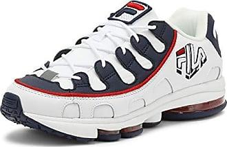 marine rot Sneakers Silva uk 8 Weiß Herren Fila wtFUEE