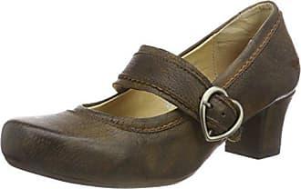 Marron Mujer Ibis pumps Zapatos rustic Eu 2244 amp; 41 D 450 Para De Tacón Wensky Spieth nPqgFP