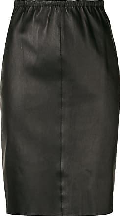 Skirt Noir Straight Max Fitted amp; Moi wxCvXnqH4I