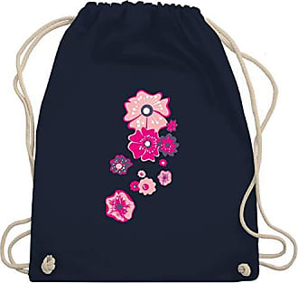 Blumenamp; Blau Gym Bag Navy PflanzenUnisize Shirtracer Turnbeutel Wm110 QdhtrxCsB