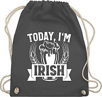 Today Day Gym Dunkelgrau Irish Im Bag Unisize Shirtracer St amp; Wm110 Patricks Turnbeutel qEPSZCt
