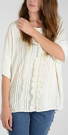 Top Parosh Size S Lace Embroidered qwfqr8vW7