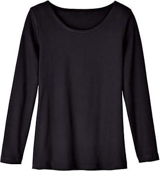Met katoen Shirt Zwart Van Enna Hals Bio Ronde 4Yaqq5Fw