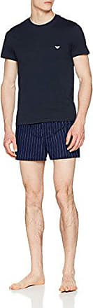 Emporio Armani Pijama Marine 49935 Small 111339 riga bianco Hombre Para rPrEnxpO