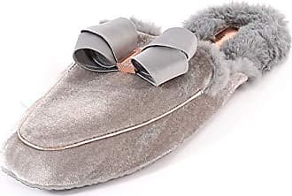 Gris Lt Chaussons Mules Gry Eu Femme Grey Ted 37 Baker Bhaybe TwpX0X