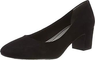 32 22426 Eu 2 black Para Zapatos Tozzi 001 2 Mujer 38 Tacón Marco De Negro UITqpwA