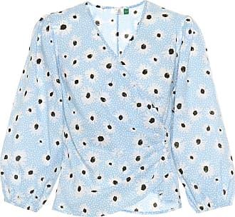 Shannon Imprimé Blouse Coton Cache coeur Rixo En W9DeHEI2Y