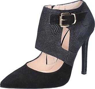 Lorusso Escarpins Femme Noir Chaussures Bottines Daim Bz218 Islo Isabella Rgqw77