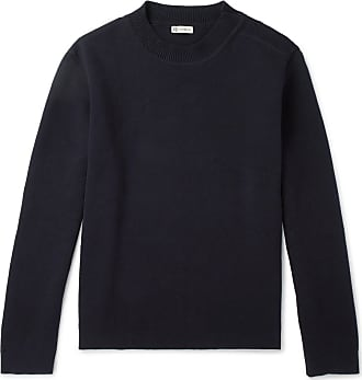 Waffle Navy knit Connolly Sweater Cotton rCrwBq
