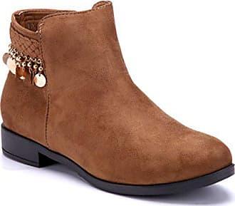 aa123647ac1f2a Schuhe Stiefel Cm Camel 2 Boots Flach Stiefeletten Schuhtempel24 Flache  Damen qRL5c34Aj