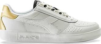 weiß gold Damen Sportswear Sneaker Diadora Elite BwHnIXxqgE