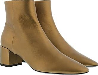 Boots Saint Gold Leather Ankle Laurent Sx1aqEB