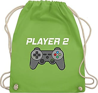 Shirtracer Gym Bag 2 amp; Player look Wm110 Vintage Papa Hellgrün Unisize Partner Turnbeutel Familie rSO7Aqra