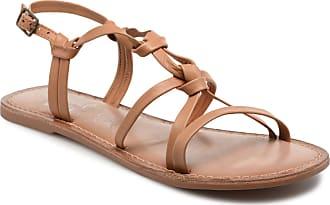 Sandalen Leather Braun I Shoes Love Kenania Damen Für qpxZwSU