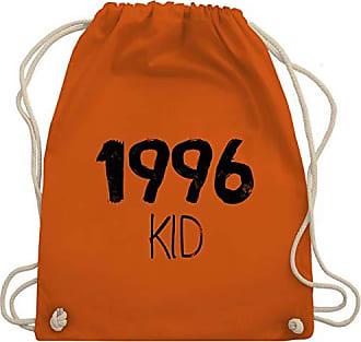 Bag Unisize 1996 Gym Wm110 Kid Turnbeutel Geburtstag Orange amp; Shirtracer 6wqZzZ
