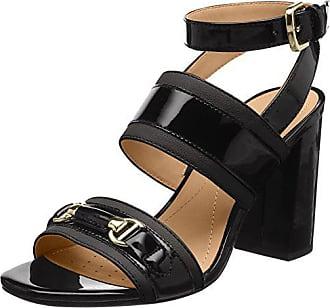 37 D Sandalo Geox black C Femme Noir Cheville High Bride Audalies Eu Sandales Pt6wx6dq