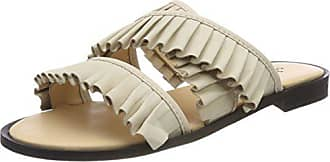 Eu Cassé Shoe Mules Halida Biz 36 Blanc Creme Femme Chaussons nubuck 11pOZn
