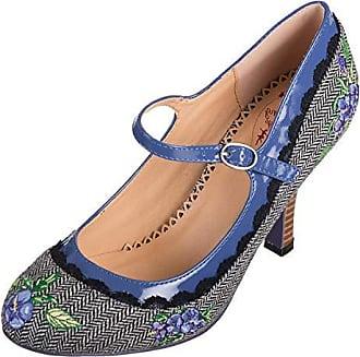 Eu Schuhe Girl Loves Pumps 36 Dancing Damen Grau Geschlossen Days blau 68PHWZxq
