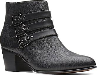 Clarks Boots Noir Rayna Cuir Maypearl PPYUrq