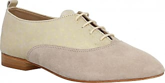 à Beige Hirica Femme Bilbao Chaussures Lacets DHY9eWE2I