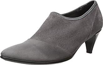 Eu Gris Sleek Pointy titanium 45 black Femme Ecco Shape 39 Escarpins wtYgvYq