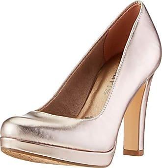 Dorado 22426 Metallic Tamaris 38 22 rose Zapatos Para Eu 1 Mujer 952 Tacón 1 De PrqwPCzx