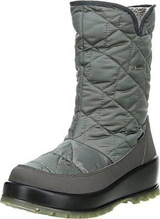 Grau 36 Größe Farbe Vista Snowboots Damen Winterstiefel grau Eiskrallen wCIxqIB1R
