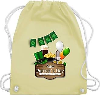 amp; Gelb Wm110 Unisize Happy Patricks Festival St Bag Turnbeutel Shirtracer Pastell Music Day Saint Gym 17ZBqwS