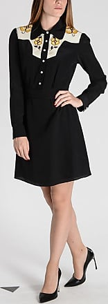 Size Dress Embroidery Coach Xs Silk F1CfqwTx