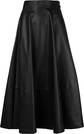 Skirt Full High Noir Waisted Loewe twBXq8n