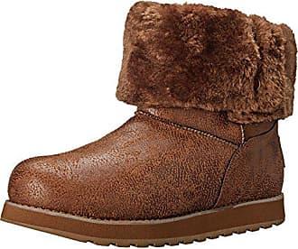 Braun Damen Eu Keepsakes Stiefel Skechers Kurzschaft Leather csnt esque 36 fwYzxxdq