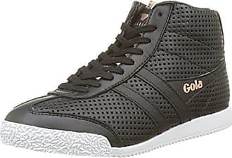 Basses High black Eu Femme Noir Harrier Gola Glimmer 39 Leather Gold Baskets rose B4R4Tw