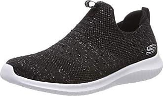 Sin Bksl black Mujer Cordones Zapatillas thrive Para Silver 38 Negro Flex Up Eu Ultra Skechers xXq4SBW