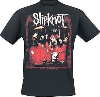 Manches Messieurs Debut Courtes T shirt Slipknot Noir Pour Album RIgU0nH