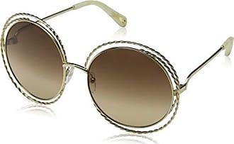 Gold Para Lens Mujer Sol De brown Gafas 58 Ce114st Chloé TqZFwIxYgp
