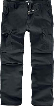 Vintage Industries Messieurs OwenCargo Pantalon Noir Pour ED2HI9